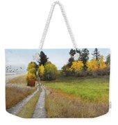 Idaho Backroad Autumn Weekender Tote Bag