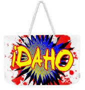 Idaho Comic Exclamation Weekender Tote Bag