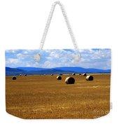Idaho Hay Weekender Tote Bag
