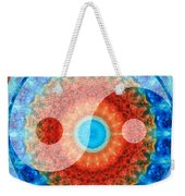 Ideal Balance Yin And Yang By Sharon Cummings Weekender Tote Bag