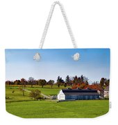 Idyllic Autumn Farm Weekender Tote Bag