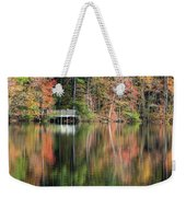 Idyllic Autumn Reflections Weekender Tote Bag