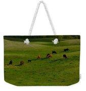 Idyllic Cows In The Hills Weekender Tote Bag