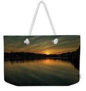 Idyllic Philadelphia Sunset Weekender Tote Bag