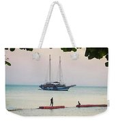 Idyllic Setting To Idle The Time Away Weekender Tote Bag