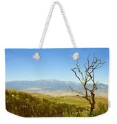 Idyllwild Mountain View With Dead Tree Weekender Tote Bag