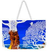 If A Tree Falls In Sicily White Weekender Tote Bag