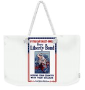If You Can't Enlist Invest Weekender Tote Bag