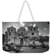 Iglesia Ciudad Vieja - Guatemala Bnw Weekender Tote Bag