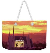Iglesia Ni Cristo Sunset Cebu City Philippines Weekender Tote Bag