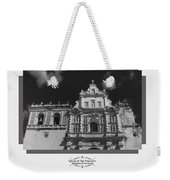 Iglesia San Francisco - Antigua Guatemala Bnw Weekender Tote Bag