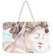 Ignudo Sistine Chappel Michelangelo Weekender Tote Bag