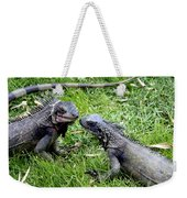 Iguana Kisses St Thomas Weekender Tote Bag