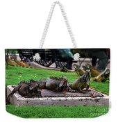 Iguana Trio Weekender Tote Bag
