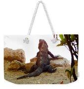 Iguana Watchout Weekender Tote Bag