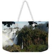 Iguazu Falls Panoramic View Weekender Tote Bag