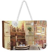 Il Caffe Dell'armadio Weekender Tote Bag by Guido Borelli
