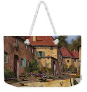 Il Carretto Weekender Tote Bag by Guido Borelli