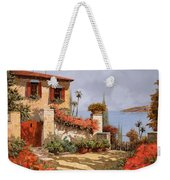 Il Giardino Rosso Weekender Tote Bag