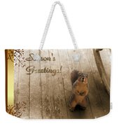 I'll Be Home For Christmas Weekender Tote Bag