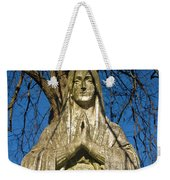 I'll Just Blend In - Hail Mary  Weekender Tote Bag