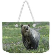 I'll Only Say This Once Weekender Tote Bag by Sandra Bronstein