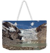 Illampu Glacier Lake Or Laguna Glacial Weekender Tote Bag