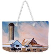 Illinois Farm Weekender Tote Bag