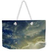 Illuminated Sky Weekender Tote Bag