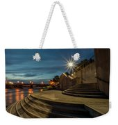 Illuminated Staircase Weekender Tote Bag