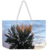Illuminated Tree Top Weekender Tote Bag