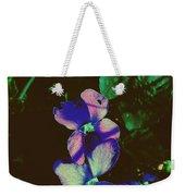 Illuminated Wildflowers Weekender Tote Bag