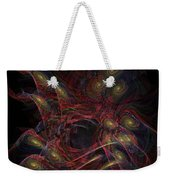 Illusion And Chance - Fractal Art Weekender Tote Bag