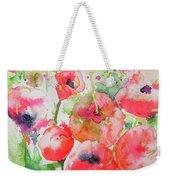 Illusions Of Poppies Weekender Tote Bag