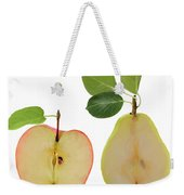 Illustration Of Apple And Pear Weekender Tote Bag