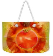 Illustration Of Tomato Weekender Tote Bag