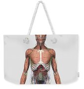 Illustration Of Upper Human Torso Weekender Tote Bag