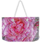 Illustration Rose Pink Weekender Tote Bag