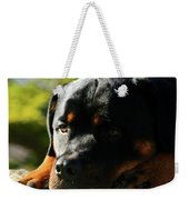 I'm Bored Rottie Weekender Tote Bag