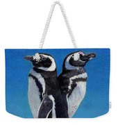 I'm Not Talking To You - Penguins Weekender Tote Bag