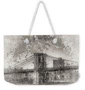 Im Selling The Brooklyn Bridge Or At Least A Photo Of It  Weekender Tote Bag