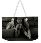 I'm Waiting For You Weekender Tote Bag