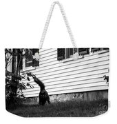 I'm Watching You Black And White Weekender Tote Bag