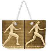 Image Sequence From Animal Locomotion Series Weekender Tote Bag
