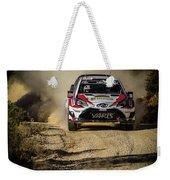 imagejunky_KB - RallyRACC WRC Spain - Esapekka Lappi / Janne Ferm Weekender Tote Bag