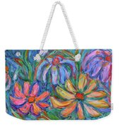 Imaginary Flowers Weekender Tote Bag