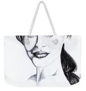 Imaginative Portrait Drawing  Weekender Tote Bag