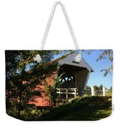 Imes Covered Bridge-winterset Weekender Tote Bag