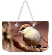 Img_0001 Brown-headed Nuthatch Weekender Tote Bag
