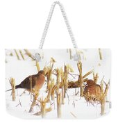 Img_0001 - Mourning Dove Weekender Tote Bag